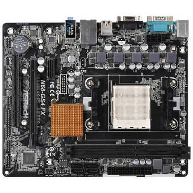 ASRock N68-GS4/USB3 FX R2.0 Micro ATX AMD Motherboard