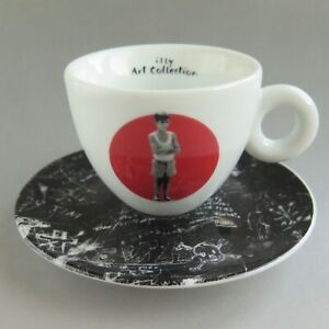 Details about Illy Art Collection PEDRO ALMODOVAR 2009 CAPPUCCINO CUP & SAUCER Bad Education