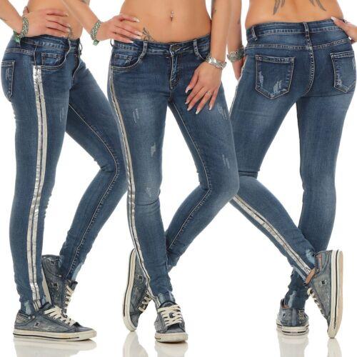 11348 salsiccia Jeans Da Donna Jeans a Sigaretta Pantaloni Denim Donna Jeans Skinny
