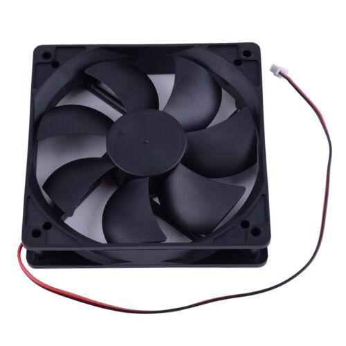 120x120x25mm 2Pin XH2.54 Dual Ball 93CFM PC Computer Case Cooling Fan High Speed