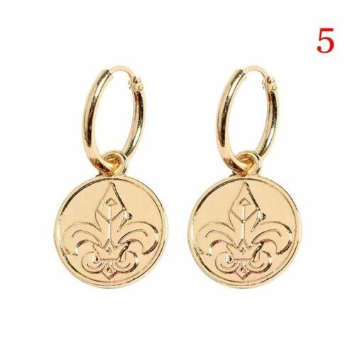 Style Jewelry 18K Gold Filled Cartilage Ear Studs Hoop Earrings Dangle Drop