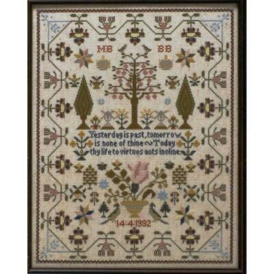 Keep Me Sampler Moira Blackburn Cross Stitch Pattern