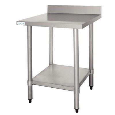 Edelstahl Arbeitstisch ab 60cm Länge 70 tiefe Tische für Gastronomie