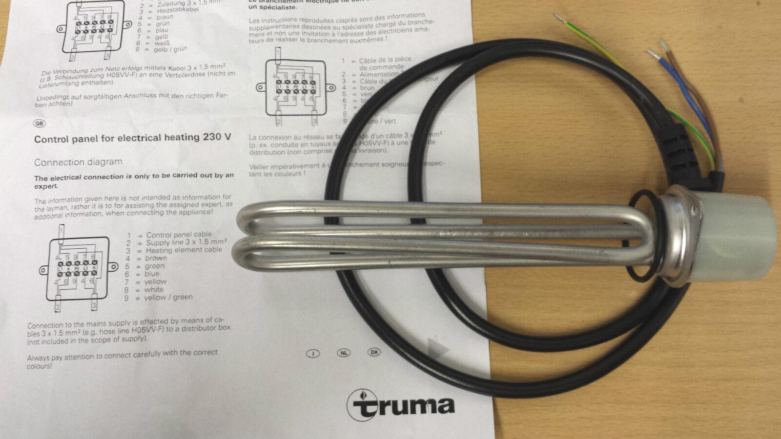 Truma Therme Heating Element 240v 300watts Ebay Caravan Heater Wiring Diagram Norton Secured Powered By Verisign