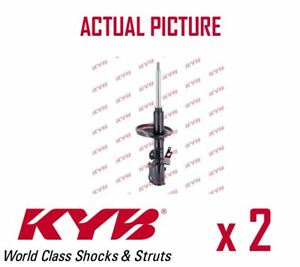 2-x-FRONT-AXLE-SHOCK-ABSORBERS-PAIR-STRUTS-SHOCKERS-KYB-OE-QUALITY-334094