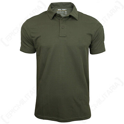 All Sizes Active Top Quality Quick Dry Olive Green QUICKDRY POLO SHIRT