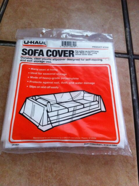 Durable Clear Plastic Sofa Cover For