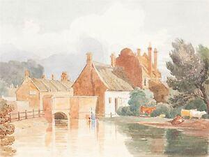 JAMES-BULWER-BRITISH-BURE-AYLSHAM-NORFOLK-OLD-ART-PAINTING-POSTER-BB4956A