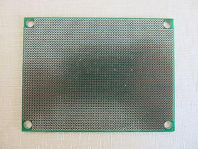 3x Prototyping 6x8cm RM1.27mm 2Side pcb Prototype paper circuit Board Breadboard