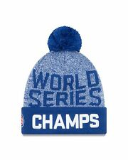 Chicago Cubs New Era 2016 World Series Champions Winter Beanie Knit Hat 94229d8a262