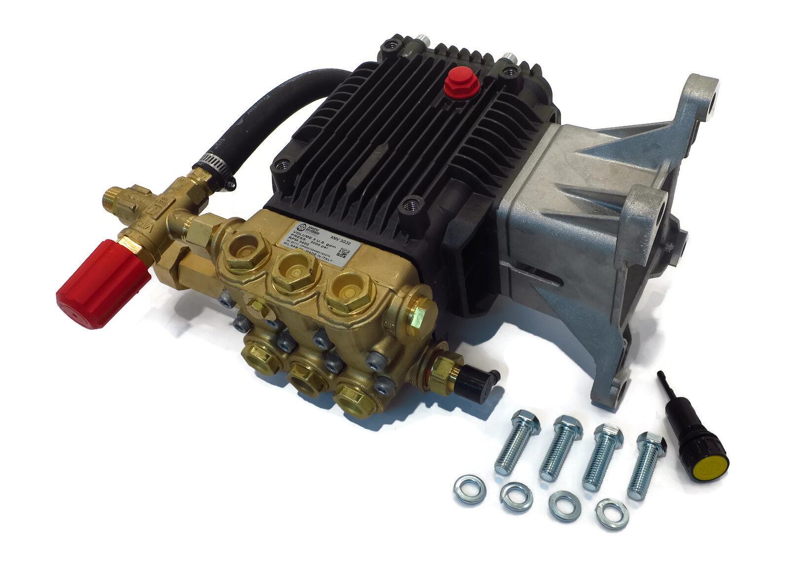 3000 PSI de presión de alimentación AR Arandela bomba de agua de repuesto RSV3G34D-F40 Eje de 1