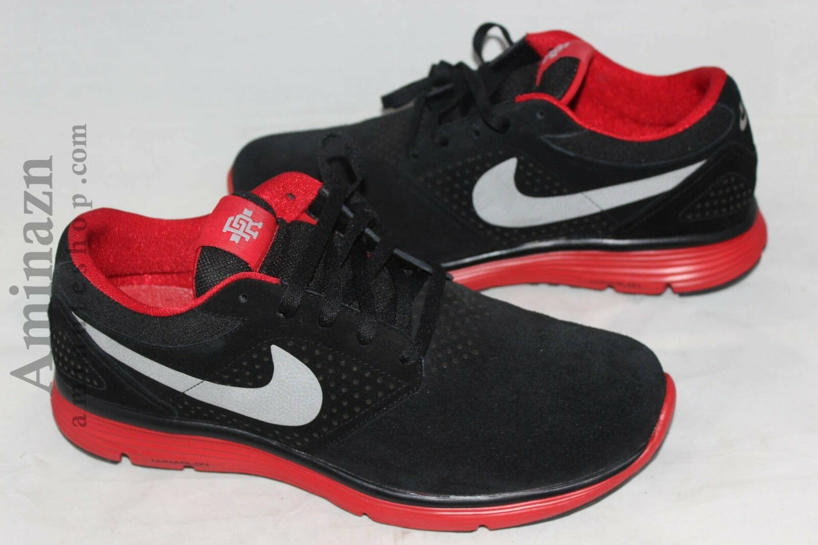 NEW NIKE P ROD V UNRELEASED MODEL SAMPLE LUNAR ROD black red j rod promo SZ 12