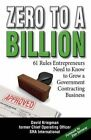 Zero to a Billion by David a Kriegman (Paperback / softback, 2013)