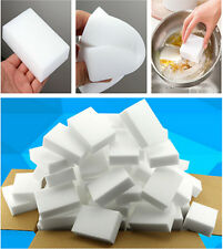 100pcs/lot White Magic Sponge Cleaner Car Kitchen Washing Cleaning Eco-Friendly