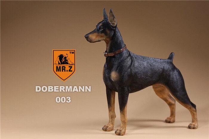 Mr.Z 1 6 Resin Germany Dobermann 003 Statue Pet Dog Animal Toy