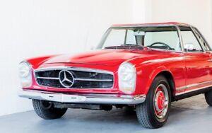 Stossstangen-Stossstangen-Mercedes-Benz-SL-W113-Pagode-komplett-Bumper-pair-choch