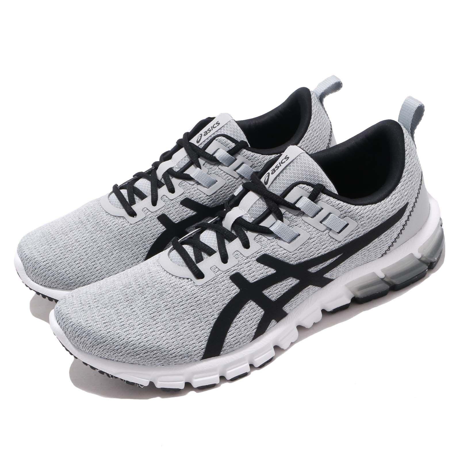 Asics Gel Quantum 90 gris Negro blancoo Hombres Running Zapatos TENIS 1021A123-020