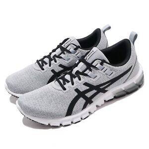 Asics-Gel-Quantum-90-Grey-Black-White-Men-Running-Shoes-Sneakers-1021A123-020