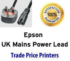 UK Power Lead Cable Epson Stylus Photo R2000 R3000 P50 T50 T60 Mains Lead