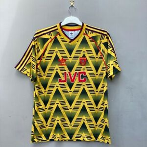 Arsenal adidas Originals 1991-1993 Bruised Banana Away Shirt Size: Adult Large
