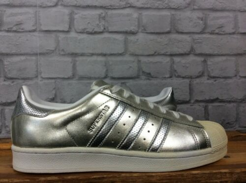 Superstar Silver Adidas ginnastica Scarpe 40 2 Metallic 3 Eu Uk Ladies da Boost 7 Originals 7ZEEwOq