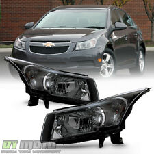 Leftright 2011 2015 Chevy Cruze Halogen Headlights Headlamps Lights Aftermarket Fits 2012 Chevrolet Cruze Lt
