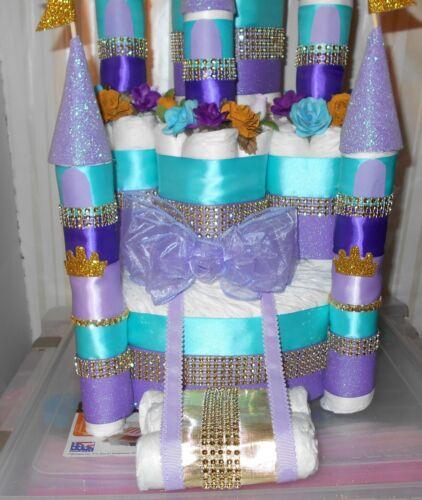 Castle Diaper Cake Princess Prince Diaper Cake Baby Shower Centerpiece Gift