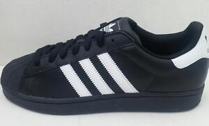 huge discount 00730 18edd ... Adidas-Hommes-Superstar-2-G17067-Baskets-Noir-Blanc-