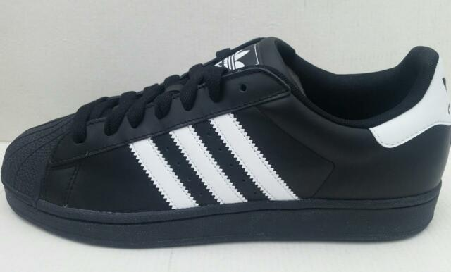 size 40 d6264 84b3c Adidas Mens superstar 2 G17067 trainer shoe black white UK 9 UK 10 UK 10.5  NEW