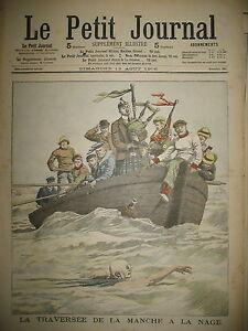 NATATION-WOLF-TRAVERSeE-DE-LA-MANCHE-A-LA-NAGE-CORNEMUSE-LE-PETIT-JOURNAL-1906