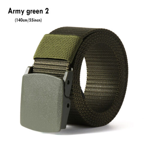 Sports Tactical Waistband Nylon Waist Belt Military Web Belt for Fat Man