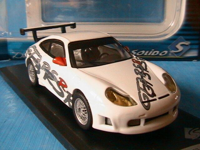 PORSCHE 911 996 GT3 RSR 2000 PRESENTATION SOLIDO 421433040 1/43 NEW IN BOX