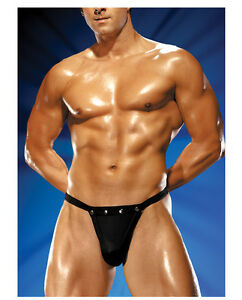d737eb4c1cbf Image is loading Mens-Male-Power-Studded-Rip-Off-Thong-Stretch-