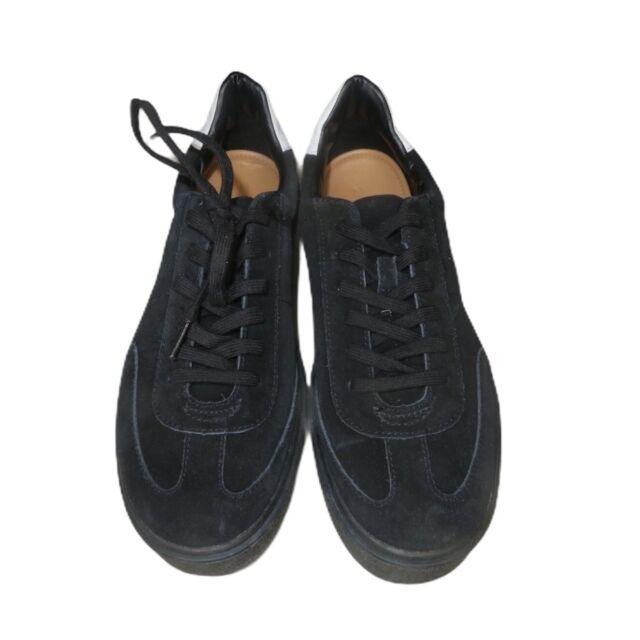 Zara Leather SNEAKERS Shoes Split Suede