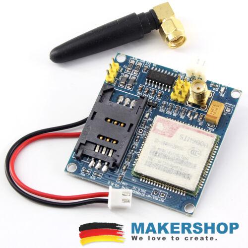 SIM900A V4.1 Modul GPRS//GSM 900//1800 MHz Dual-Band Shield Arduino Raspberry Pi