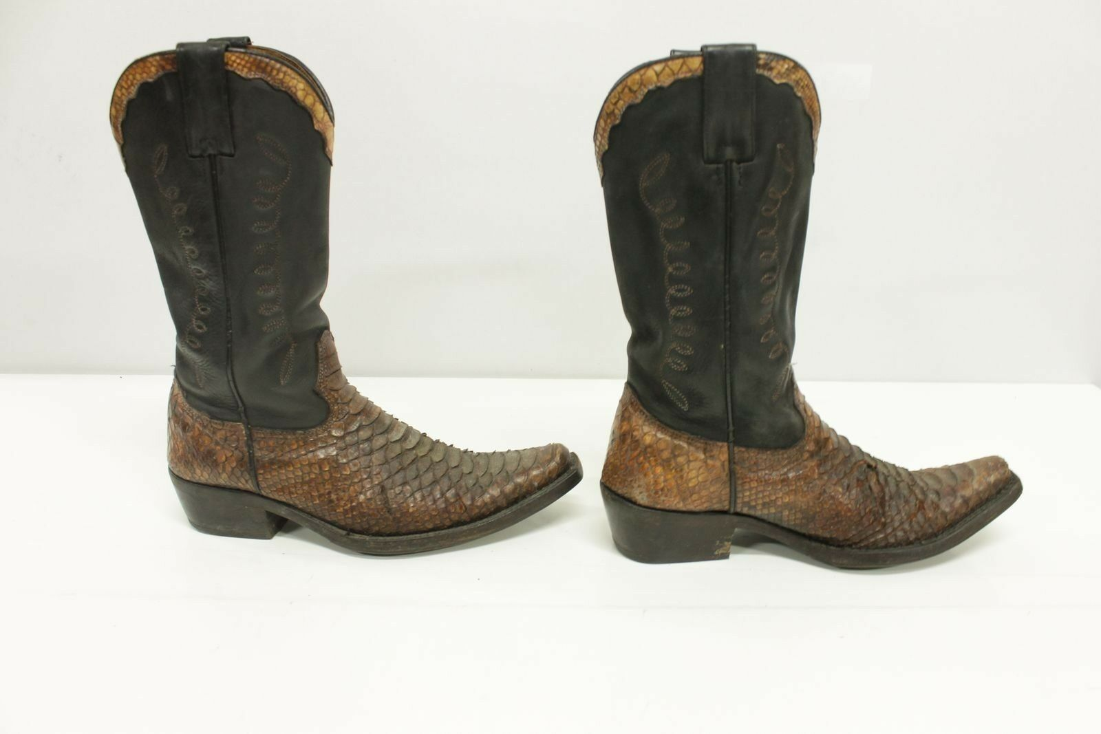 Stivali boots western n.40 (Cod.ST704) camperos cowboy western boots country Usato uomo 53a42a