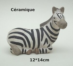 Zebre En Ceramique Collection Decoration Bibelot Statuette B3 Ebay