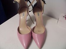 Guess pink leather high heel pumps  Size 11