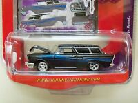 Johnny Lightning - Wicked Wagons - (1957) '57 Chevy Nomad - Diecast
