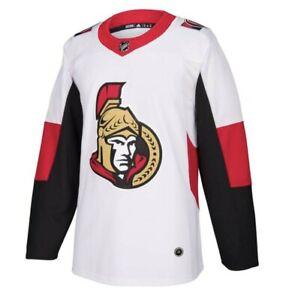 Adidas NHL Ottawa Senators Away Authentic Pro Hockey Jersey NWT
