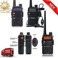 Police Radio Scanner Handheld Fire Transceiver Digital Two Way Portable Antenna
