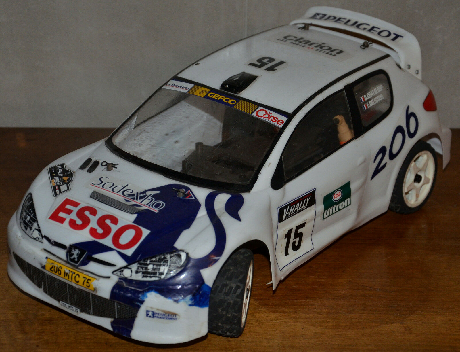 KYOSHO PURETEN EP 4wd PEUGEOT 206 WRC 1 10 RC RALLY CAR