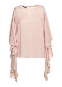 GUESS-MARCIANO-Bluse-Shirt-Tunika-rosa-rose-DE-36-38-IT-42-44-NEU-Etikett-149