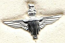 White Metal Lapel Badge PARACHUTE REGIMENT