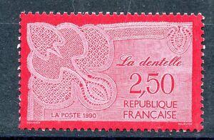 STAMP-TIMBRE-FRANCE-NEUF-N-2631-METIER-D-039-ART-LA-DENTELLE
