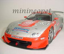 AUTOart 80317 2003 TOYOTA SUPRA JGTC #38 AU CERUMO 1/18 MODEL CAR SILVER RED