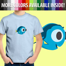 Finding Dory Cute Fish From Nemo Cool Disney Pixar Kids Boys Youth Tee T-Shirt