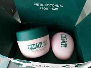 Coco & Eve Super Nourishing Coconut & Fig Hair Masque & Brush Hair Mask 212ml