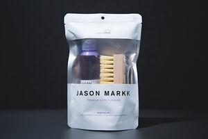 Jason-Markk-4-oz-Premium-Essential-Kit-Shoe-Cleaner-Brush-and-Solution-NEW