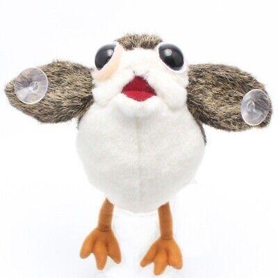 Star Wars The Last Jedi Porg Bird Plush Doll Toy Sucker Pendant On Board Car